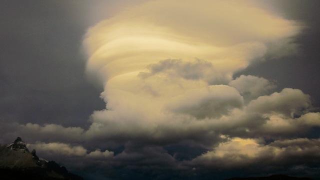 Surreal clouds, Torres del Paine