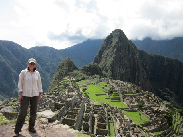 Iconic Machu Picchu. Yes, I was really there!