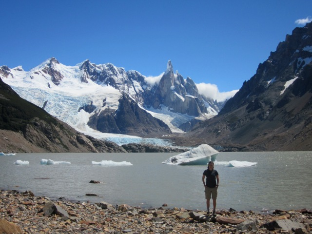 Made it to Laguna Torre
