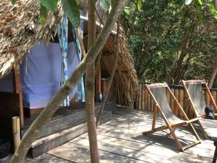 My open air hut